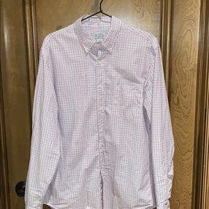 J Crew Men's Button Down Shirt (Size M)